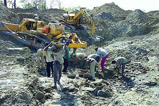 Mining activities (photo credit: google.com)
