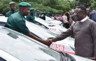 Ayade Unveils Green Police Cadet Cadre, Presents Them With Vehicles