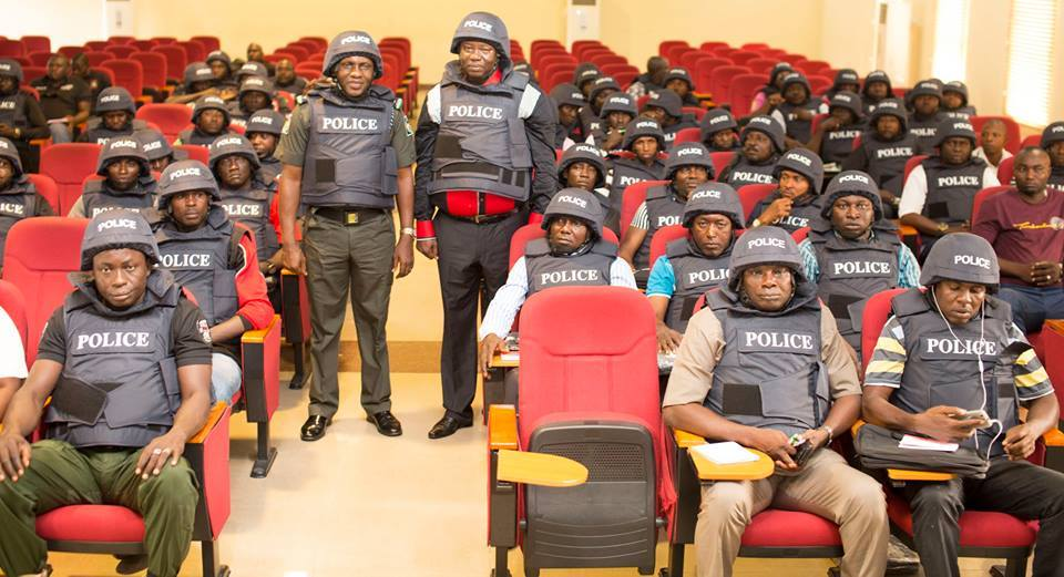 Federal SARS in one of the trainings (Photo Credit: NUAT)