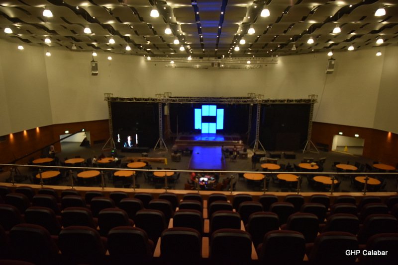 CICC interior,venue for Miss Africa 2016 pageant