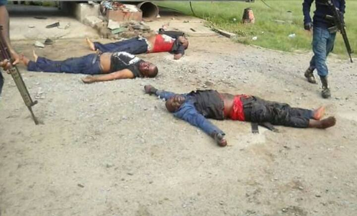 The slained NSCDC officers