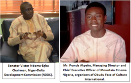 Mountain Cinema Felicitates With Ndoma Egba On Appointment, Urge Him To Be Selfless