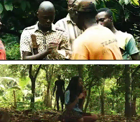 Scenes from the film AYADE by Shandel Productions