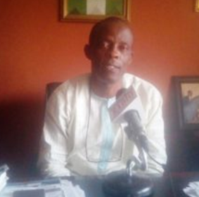 Mr. Etim Effiom Archibong, Cross River State Commissioner for Social Housing during the interview in his office