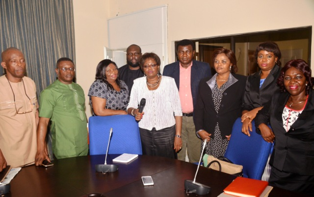 Member of the State Executive Council after an exco meeting (file pix)