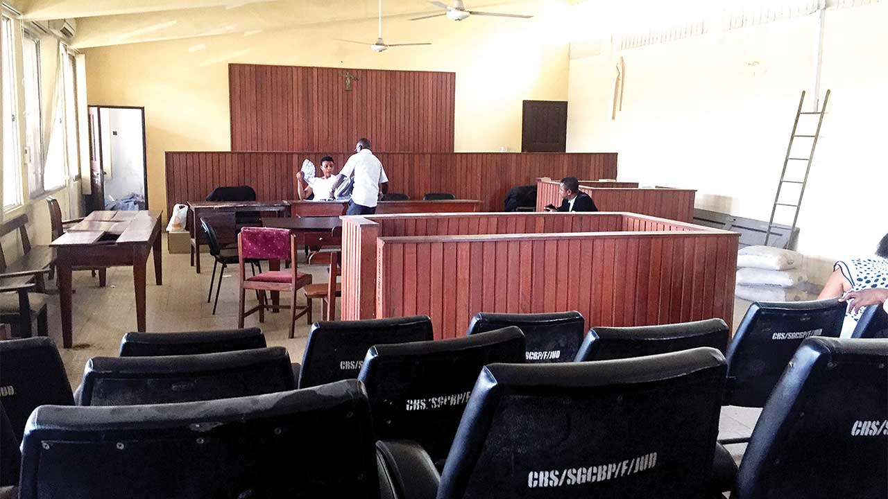 Calabar High Court room