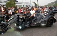 Donald Duke Steals Biker's Carnival Show As Ayade's Bike Fails