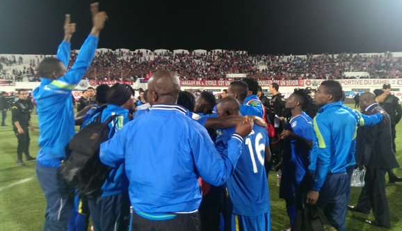 Enyimba FC players - to play next season home games in Calabar