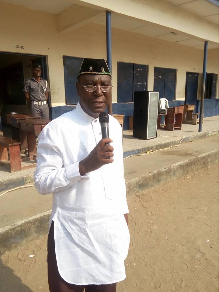 Representative of the Minister, Pastor Olawoyin Ismaila
