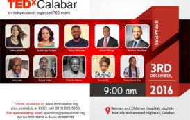 Cross River Assembly Speaker, John Gaul, 9 Others To Speak At TEDX Calabar Event