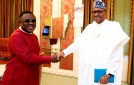Buhari Ayade In Closed-Door Meeting In Aso Villa