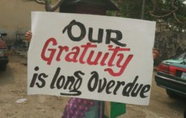 Pensioners Protest In Cross River State (PICTURES)