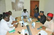 Ayade, PDP Governors, Meet Former President Goodluck Jonathan In Abuja