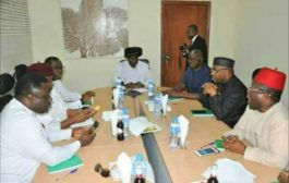 Ayade, PDP Governors, Meet Former President Goodluck Jonathan In Abuja