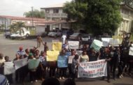 Federal Government Girls College Calabar Staff Protest DSS Brutality