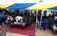 Governor Ayade, Buratai Commission 13 Amphibious Brigade Housing Scheme In Calabar (Pictures)