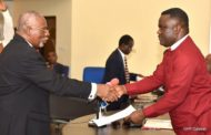 Breaking News: Governor Ayade Swears In Justice Michael Edem As Acting Cross River Chief Judge
