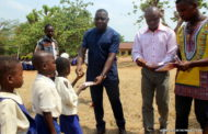 Major SSA Agba Scholarship Foundation Donates Writing Materials To School In Obudu