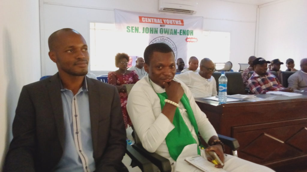 Internet Business Can Afford You The Life You Want – Jalingo, Ojikutu Charge Cross River Central Youths