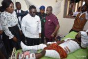 Finally, Ayade Visits Victims Of Calabar Viewing Center Tragedy