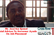 Job Creation Center:  Ayade's SA On Job Placement Accuse Youths/Sports Commissioner, Asu Okang Of Desperation