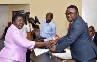Ayade Swears In New Permanent Secretary