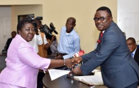 Ayade Swears In New Permanent Secretary