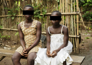 Heartbreaking: Two Children Branded Witches, Tied and Beaten Up in Cross River State Narrate Their Shocking Ordeal (Photo)
