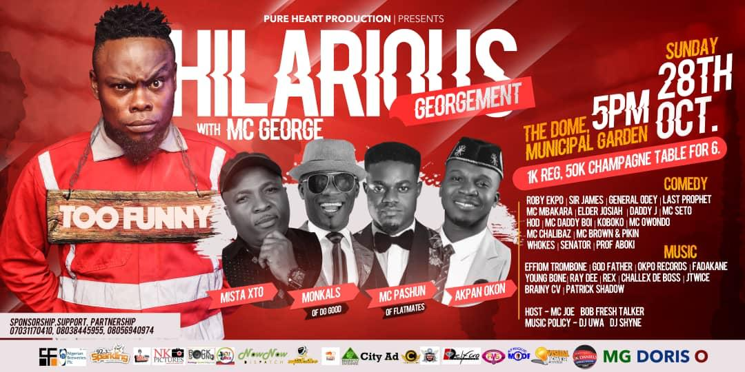 Pure Heart Production To Host Comedy Show In Calabar