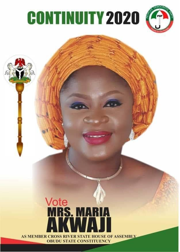 Maria Akwaji, Obudu, Cross River House of Assembly, By-Election
