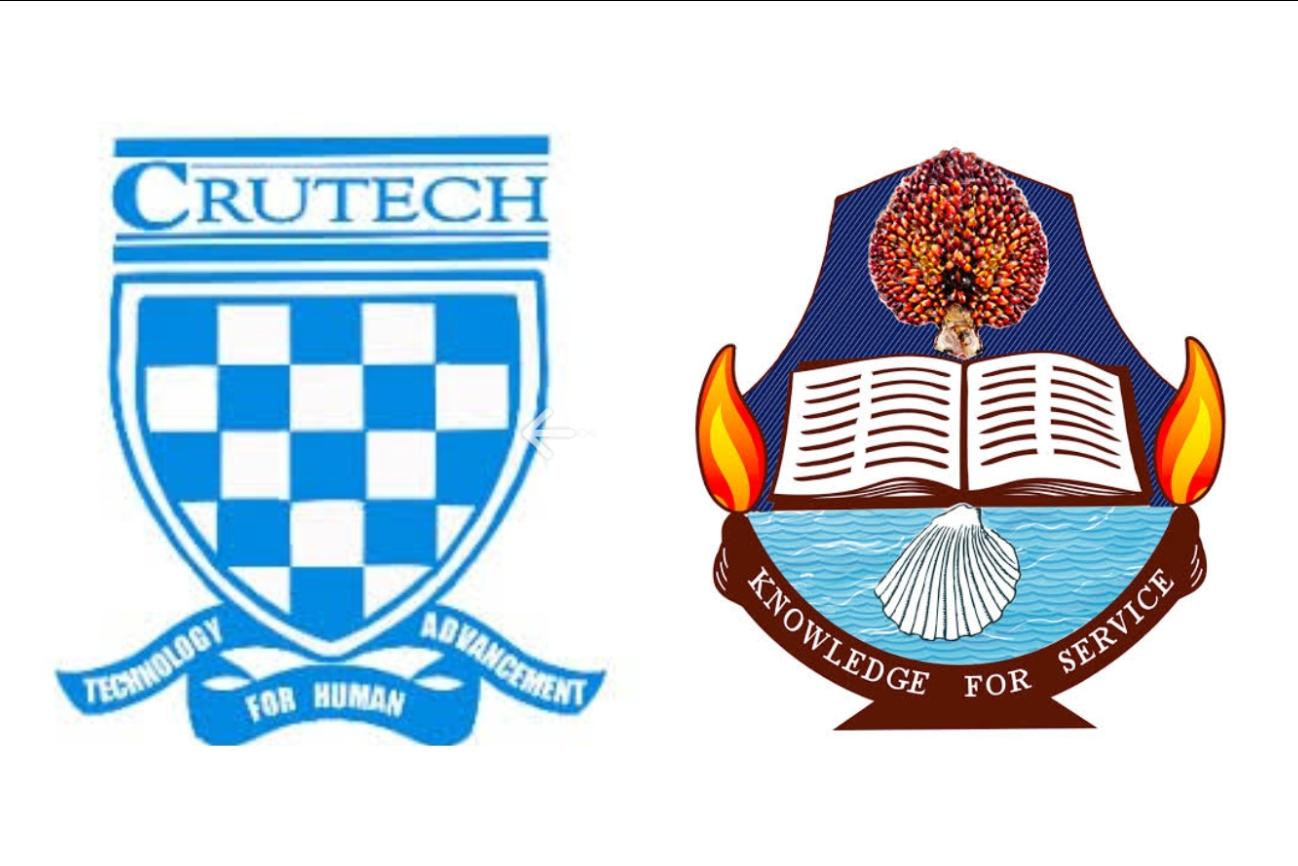 University of Calabar, UNICAL and Cross River University of Technology, CRUTECH logos
