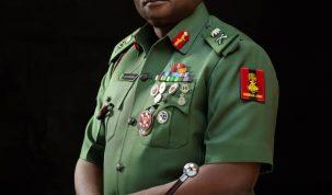 Maj. Gen. Emmanuel Akomaye Parker (EAP) Undiandeye