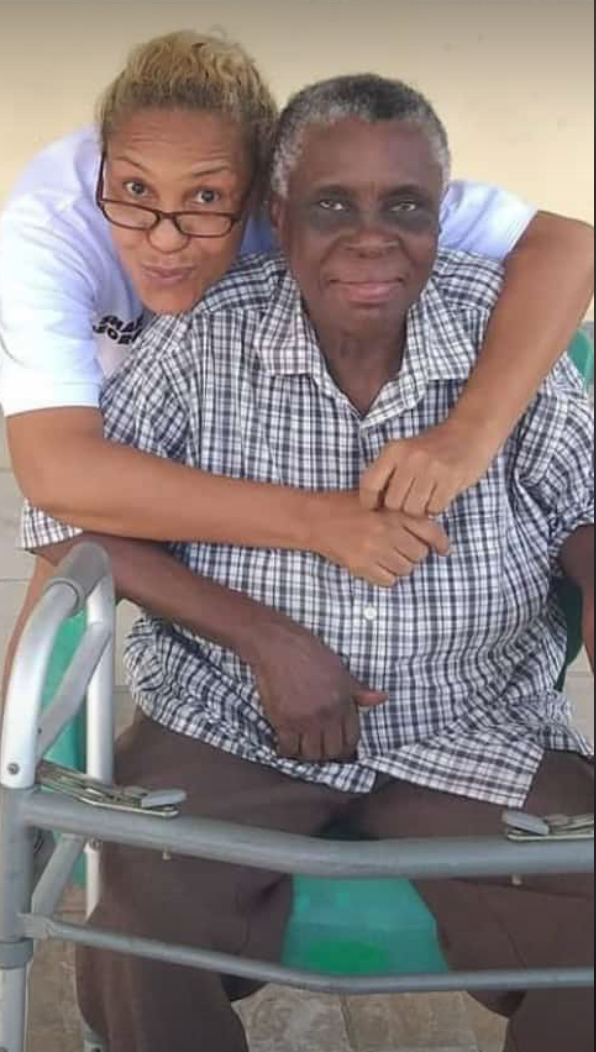 The late Mrs. Osim George and her daughter, Shan George. Credit: Shan George