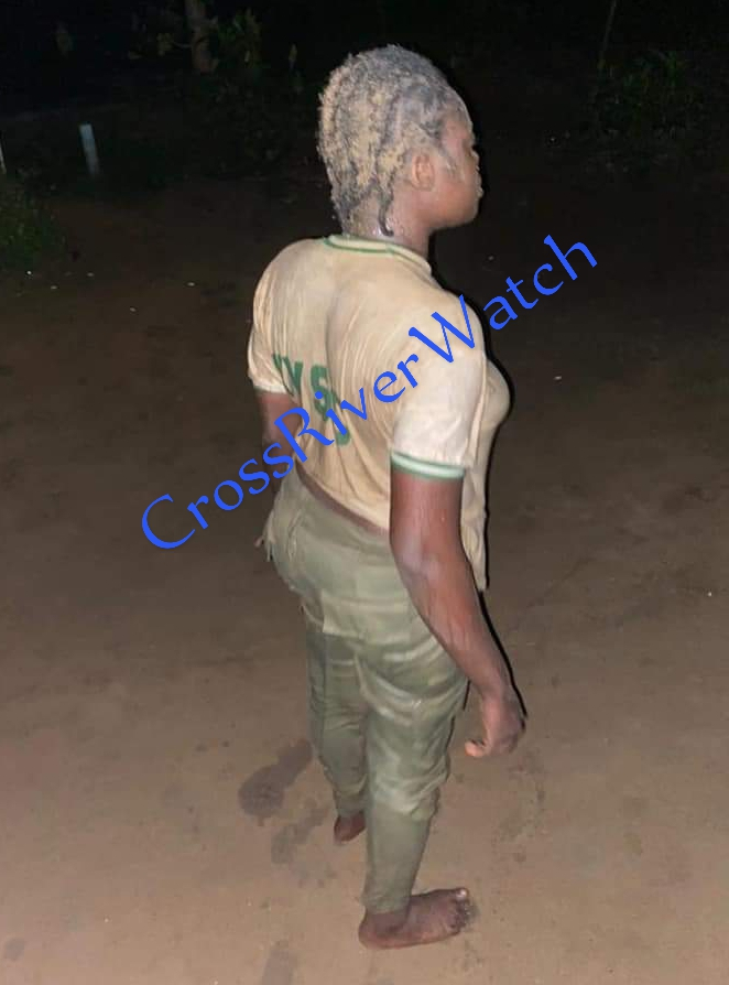 Ezeiruaka Ifenyiwa Fidelia, the corps member assaulted by Lt. Chika Viola Anele